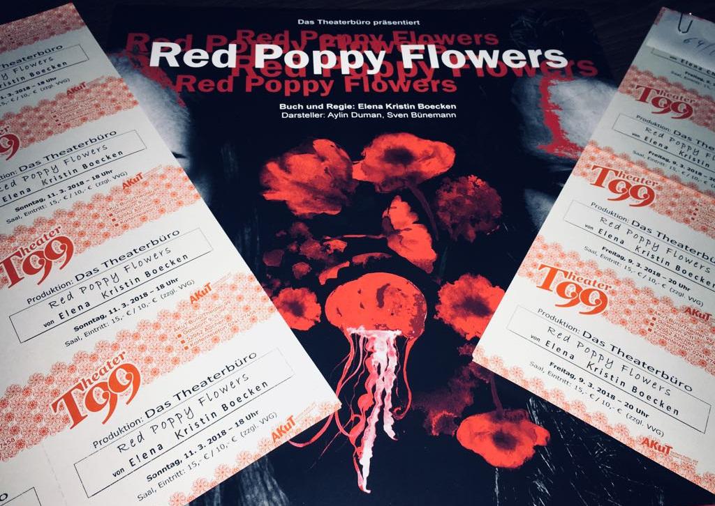 Red Poppy Flowers - Aachen - Das Theaterbüro