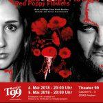 Red Poppy Flowers - Plakat - Das Theaterbüro, Aachen