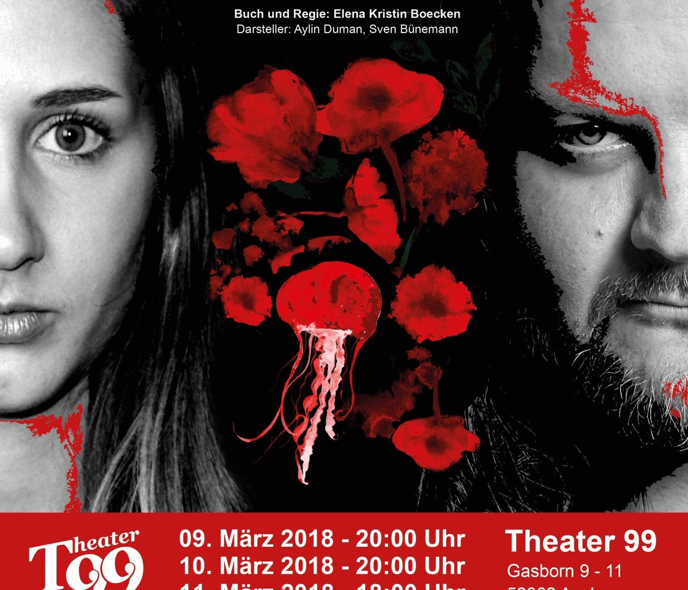 Red Poppy Flowers - Theater 99 - Produktion: Das Theaterbüro, Aachen